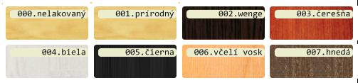 barvy dreva